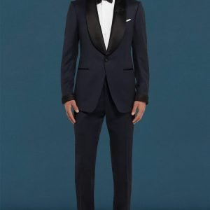 Daniel Craig Blue Tuxedo James Bond No Time To Die Tuxedo