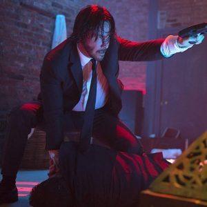 Keanu Reeves Black Suit John Wick 2 Black Suit