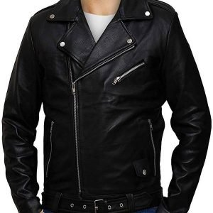 Jughead Jones Riverdale Cole South Side Serpents Black Leather Jacket