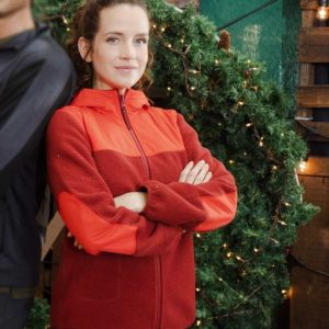 Katie Jolly Christmas in the Rockies Jacket With Hood - Free Shipping