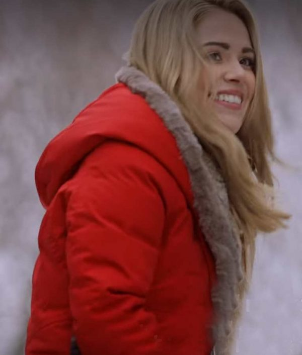 Natalie Hall Midnight and the Magnolia Maggie Quinn Red Coat
