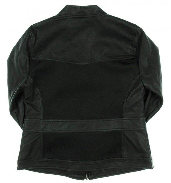 Natasha Romanoff Avengers Endgame Black Widow Black Leather Jacket1