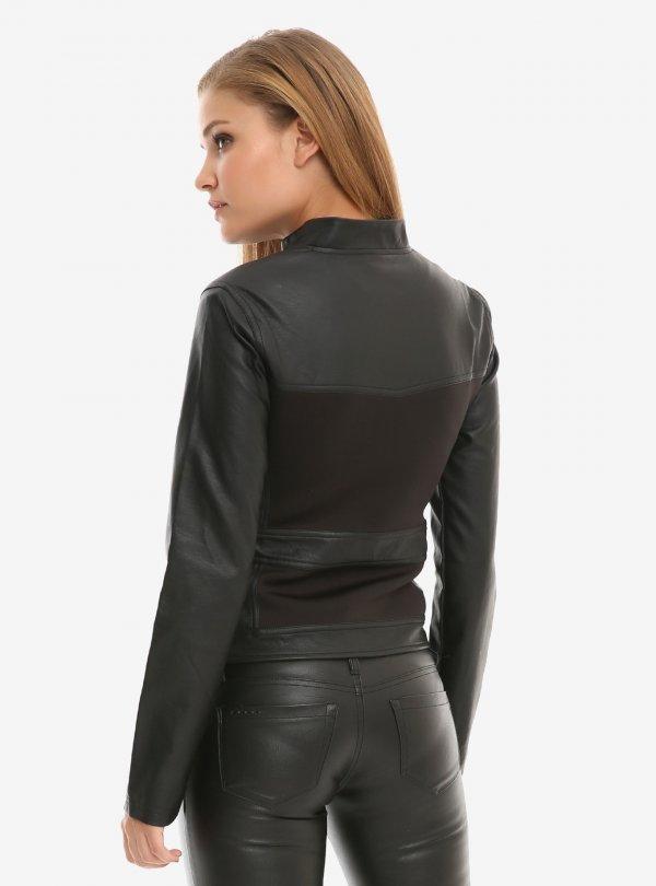 Natasha Romanoff Avengers Endgame Black Widow Black Leather Jacket