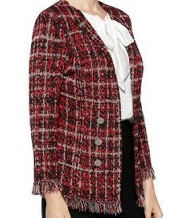 Norah Ellington Filthy Rich Deneen Tyler Plaid Jacket