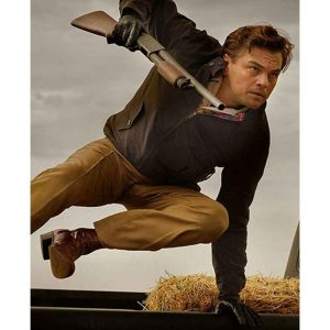 Leonard Dicaprio Once A Upon Time In Hollywood Rick Dalton Brown Jacket