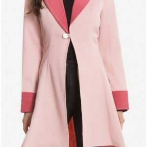 Queenie Alison Fantastic Beasts and Where to Find Them Pink Coat