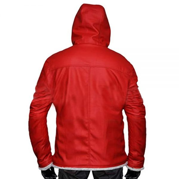 Red Santa Claus Christmas Costume Jacket