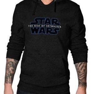 Star Wars The Rise of Skywalker Black Hooded Sweatshirt