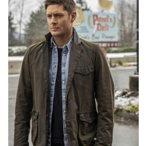Jensen Ackles TV Series Supernatural S15 Dean Winchester Jacket