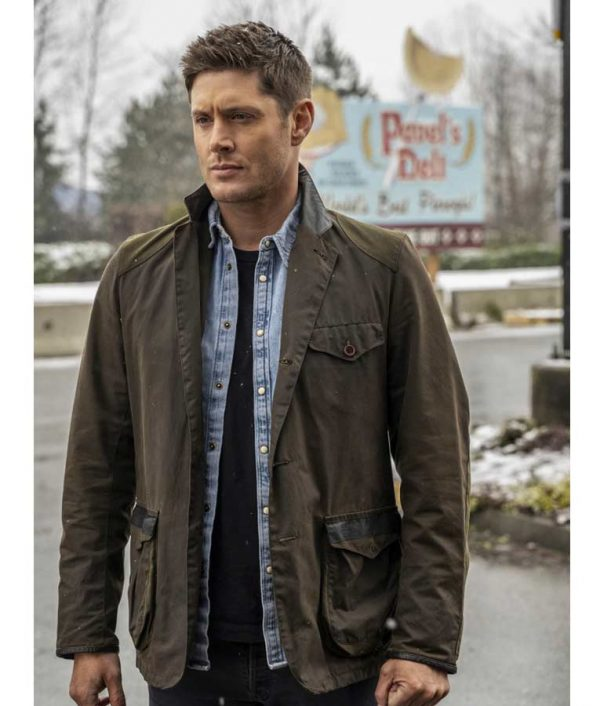 Jensen Ackles TV Series Supernatural S15 Dean Winchester Jacket