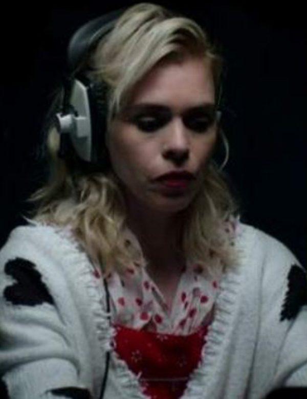Suzie Pickles White Woolean Sweater