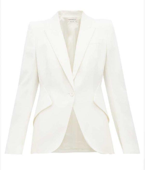 Teresa Mendoza Queen of the South Alice Braga White Blazer