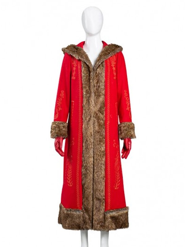 Goldie Hawn The Christmas Chronicles 2 Coat