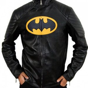 Classic Lego Batman Black Leather Jacket