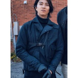 The Man from Toronto Vest Tomohisa Yamashita Black Vest