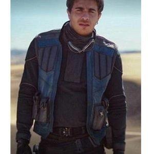 Jake Cannavale The Mandalorian Leather Toro Calican Vest