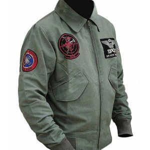 Tom Cruise Top Gun 2 Maverick MA-1 Flight Bomber Jacket