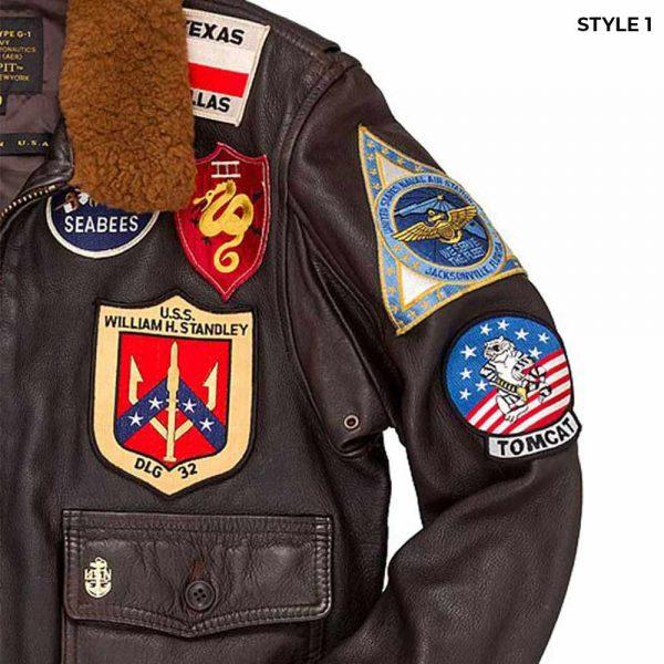 Leather Jacket Tom Cruise Top Gun