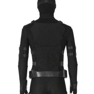 Spider-Man Tom Holland Black Jacket Tom Holland Leather Jacket