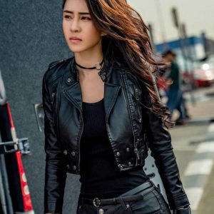 Miya Muqi Vanguard 2020 Mi Ya Black Leather Jacket
