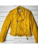 Shanola Hampton Yellow Biker Shameless Veronica Fisher Leather Jacket