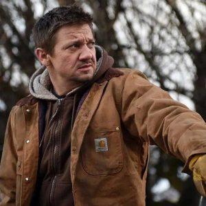 Wind River Cory Lambert Jacket | Jeremy Renner Brown Cotton Jacket