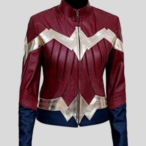 Wonder Women Leather Jacket