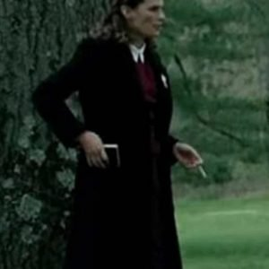 A Call To Spy Vera Atkins Coat | Stana Katic Trench Black Coat