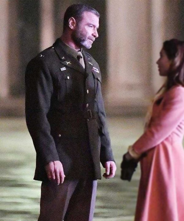 Liev Schreiber Across the River and Into the Trees Colonel Richard Cantwell Military Coat