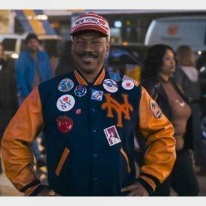 Akeem Coming 2 America Letterman Jacket | Eddie Murphy Varsity Jacket