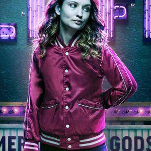American Gods S02 Emily Browning Varsity Jacket1