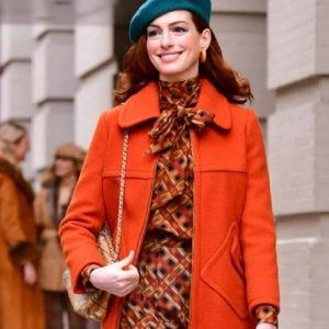 Lexi Trench Orange Coat