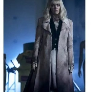 Rachel Skarsten Batwoman S02 Suede Leather Coat