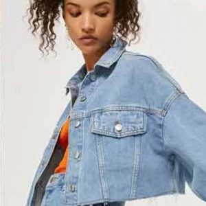 Emily In Paris Camille Razat Denim Jacket