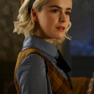 Chilling Adventures of Sabrina Spellman Checkered Sweater1