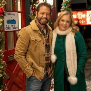 Chris Massey Jacket | Dear Christmas Jason Priestley Jacket with Fur Collar