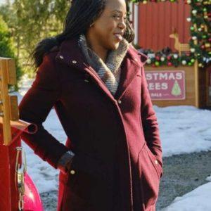 Christmas in Evergreen Bells Are Ringing Hannah Coat | Rukiya Bernard Coat