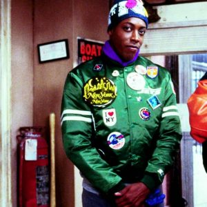 Semmi Coming to America Jet Arsenio Hall Varsity Patches Jacket