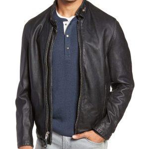 Mens Classic Vintage Cowhide Jacket | Vintage Cowhide Leather Jacket Mens