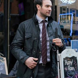 Daredevil Matt Murdock Black Jacket - Charlie Cox Daredevil The Defenders