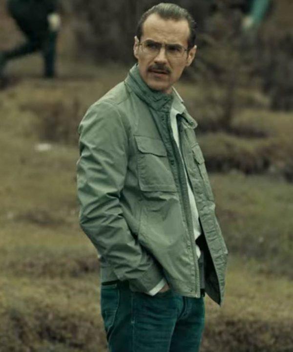 Erik Hayser TV Series Dark Desire Esteban Grey Cotton Jacket