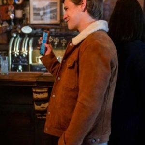 Dash & Lily Edgar Suede Leather Jacket | Glenn McCuen Leather Jacket