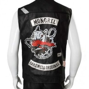 Days Gone Deacon St. John Leather Vest with Patches