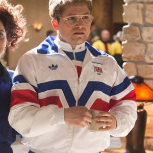 Eddie The Eagle Taron Egerton Vintage Jackets