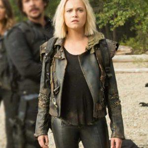 The 100 Season 07 Clarke Griffin Black Jacket