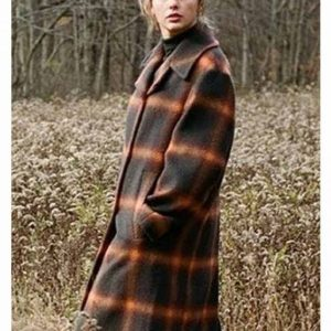 Evenmore Taylor Swift Plaid Coats