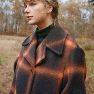 Evenmore Taylor Swift Plaid Coat