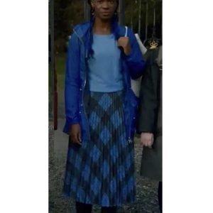Precious Mustapha Blue Jacket - Fate The Winx Saga Aisha Jacket