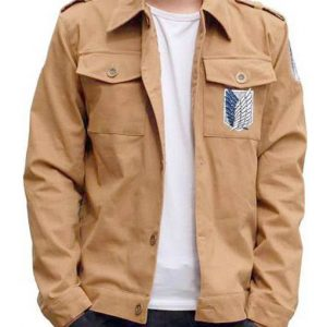 Female or Male Attack On Titan Jacket2