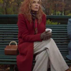 French Exit Frances Price Red Coat| Michelle Pfeiffer's Red Coat